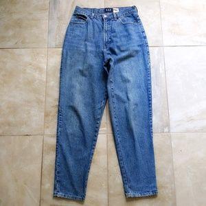 Vtg 90s Gap Reverse Fit High Waist Mom Jeans 10